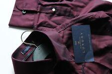M&S Blue Harbour Luxury 2 Fold Cotton Collection Shirt M Purple Mix