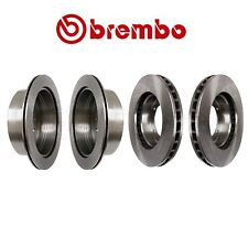 NEW Front and Rear Vented Disc Brake Rotors Kit Brembo for LX470 Land Cruiser