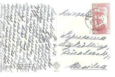 Italy  Post Card   Franked With Sassone No.299  75c. Perf 12.