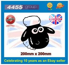 SHAUN THE SHEEP CAR BUMPER/WINDOW STICKER **FREE P&P**