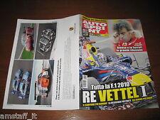 AUTOSPRINT 2010/46=SEBASTIAN VETTEL RED BULL CAMPIONE DEL MONDO F.1=