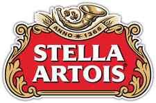 "Stella Artois Beer Alcohol Car Bumper Window Locker Sticker Decal 5""X3.5"""