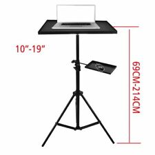 Adjustable Projector Mount Stand Laptop Notebook Video Full Tray Holder Tripod