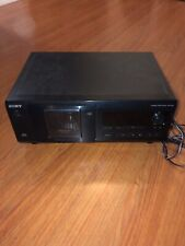 Sony CDP-CX53 CD Changer - Tested - No Remote