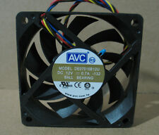 AVC DE07015B12U Fan 70*70*15mm 12V 0.7A 4pin