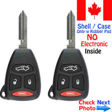 2x New Replacement Keyless Entry Remote Key Fob Case For KOBDT04A - Shell Only