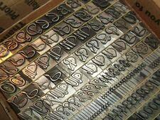 Antique 36pt Grayda C1939 Letterpress Foundry Type Printing Printer Vintage