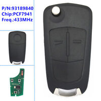 Remote Key for Opel/Vauxhall Corsa D, Meriva B,HUF 0113 CE for Delphi G1-AM433TX