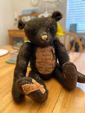 one of a kind artist teddy bears by Oz Matilda