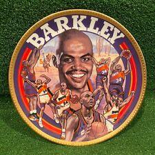 "Vintage 1993 Nba Sports Impressions Charles Barkley Mvp Gold Edition 10"" Plate"