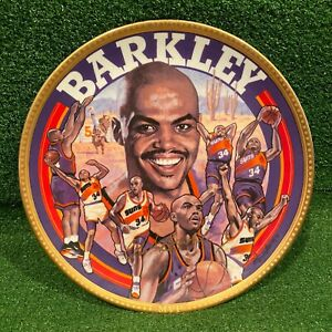 "Vintage 1993 NBA Sports Impressions Charles Barkley MVP Gold Edition 10"" Plate"