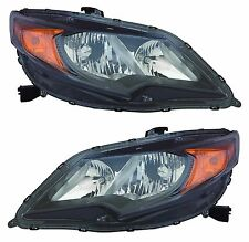 FITS HONDA CIVIC COUPE 2DR 2014-2015 HEADLIGHTS HEAD LAMPS FRONT LAMPS PAIR