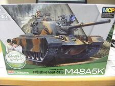 Academy 13302 1:48 ROK Army m48a5k MCP con motore e telecomando NUOVO OVP