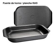 Ibili 401534 - fuente Horno-plancha Induplus 34x24x6