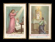 lotto santini-holy cards lot-lot images pieuses-konvolut heiligenbildichen n.64