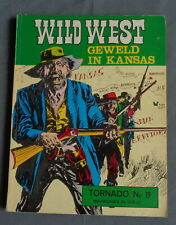 NOOIT GEDACHT COLLECTIE TORNADO Nr 19 Wild West 11 Geweld in Kansas 1972 comic