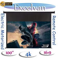16:9 pantalla proyector 100 inch electrica Eléctrica Pantallas para proyectores