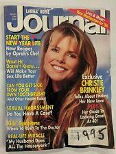 Ladies' Home Journal Christie Brinkley Oprah's Chef January 1995 M338