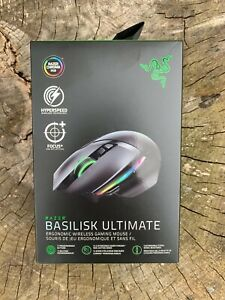 Razer Basilisk WIRELESS Ultimate Hyperspeed Gaming Mouse Optical Razor Ergonomic