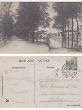# LUCCA: MURA - CORTINA S. COLOMBANO  - fotocartolina 1909