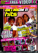 Smash Hits 2000 Kian Egan S Club 7 Girl Thing Ben Adams A1 Lee H Steps Britney
