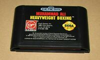 Muhammad Ali Heavyweight Boxing Sega Genesis Fast Shipping! Authentic