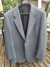 Brioni bluish green herringbone silk/wool sport jacket 40s