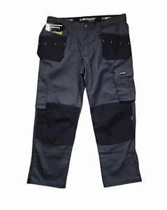 Dunlop Mens On Site Bottoms Pants Safety Trousers Zip Fly Cargo Pockets W40 L32