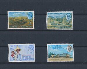 LO15266 Lesotho 1965 landscapes self-government fine lot MNH