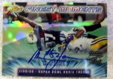 Mike Jones 2000 Topps Chrome XXXIV Refractor Autograph Card-Steelers CB Auto