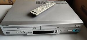 SONY DVD Player / Video Recorder VHS Combo SLV-D950 Silver Dual Deck   Working