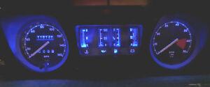 Jaguar XJ-S Complete Dash Instrument LED Bulb Set Upgrade Blue Display Up to '91