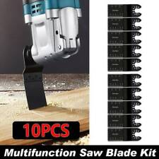 10 Saw Blade Oscillating Multi Tool Fit Fein Bosch Milwaukee Porter Cable Dewalt