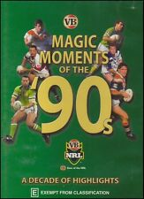 NRL - Rugby League - MAGIC MOMENTS of the 90s - Decade Highlights DVD