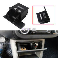 Black Ashtray in Front Control Box For VW 2008-2015 Tiguan 5N Golf Plus