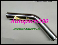 "1.5"" inch 38mm 45 Degree Aluminum Turbo Intercooler Pipe Piping Tube hose 600MM"