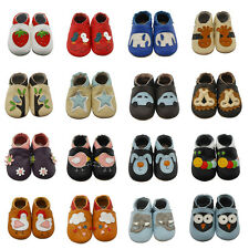Sayoyo weiches Leder Lauflernschuhe Krabbelschuhe Babyschuhe Hausschuhe Gr.17-26