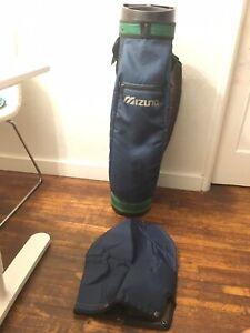 Mizuno Golf Bag Blue/Green
