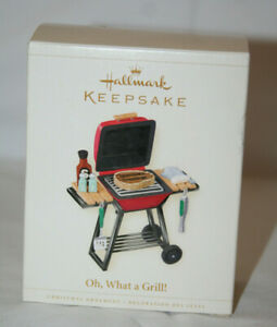Hallmark Keepsake Oh, What a Grill! Christmas Tree Ornament 2006 New with Box