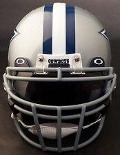 DALLAS COWBOYS Schutt ROPO-DW Football Helmet Facemask/Faceguard (GRAY)