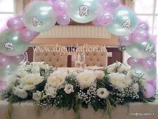 palloncini ARCO,nascita, battesimo, matrimonio,CON NOME,compleanno,fai date