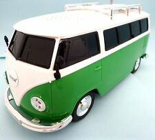 VW Bulli Musikbox Farbe Grün USB & MP 3 &SD Anschluß & Radio Musik Station NEU