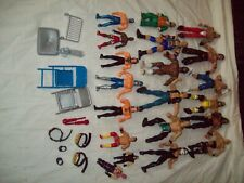 #16 Lot action figures 20 Wrestlers Wwe Jakks Mattel Austin Mr. T belts accessor