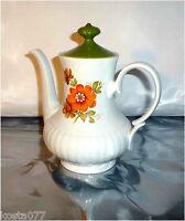 Vintage MITTERTEICH Bavaria, Ceramic Tea / Coffee Pot, Green Lid, 527/2