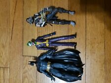 2014 DC Direct Arkham Asylum Joker  Scarecrow Batman miss Harley Quinn 4 pack