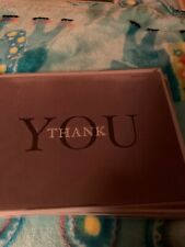 Papyrus Thank You card. New