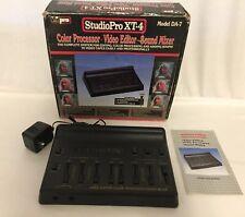 VidPro StudioPro Xt-4 Model Da-7 Color Processor ~ Video Editor ~ Sound Mixer