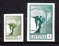 Litauen 457b Probedruck - kleine Marke - ungebraucht (3731)
