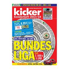 kicker Sonderheft Bundesliga 2017/18 mit Stecktabelle 17/18 NEU Sofort Lieferbar