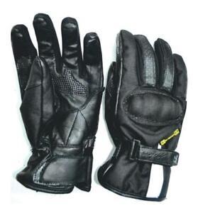 Handschuh Motorrad Winter Herren Mitsou Größe XXXL Slide Black Anerkannt Neu